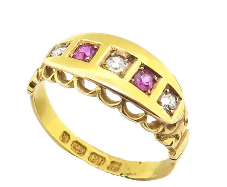 Ruby & Diamond Ring AJ15094