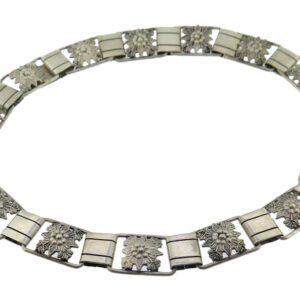 Candida Silver Necklace AJ15279