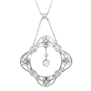 Edwardian Diamond Necklace AJ15426