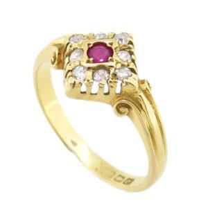 Ruby & Diamond Ring AJ15441