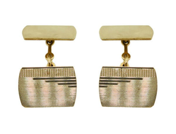 Gold Cufflinks AJ15732