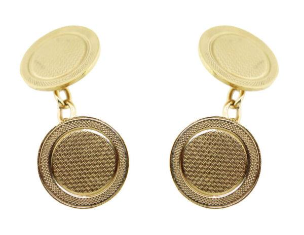 Gold Cufflinks AJ15734
