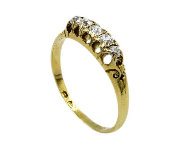 Diamond Hoop Ring AJ15941