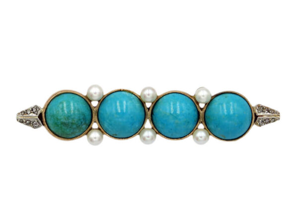 Turquoise Brooch AJ15952