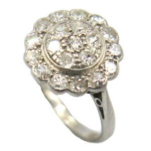 Diamond Cluster Ring AJ16041