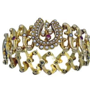 Expandable Victorian Bracelet AJA277