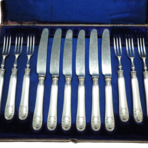 Set of Fruit Knives & Forks AS11503