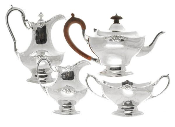 4 Piece Scottish Tea Set AS11709