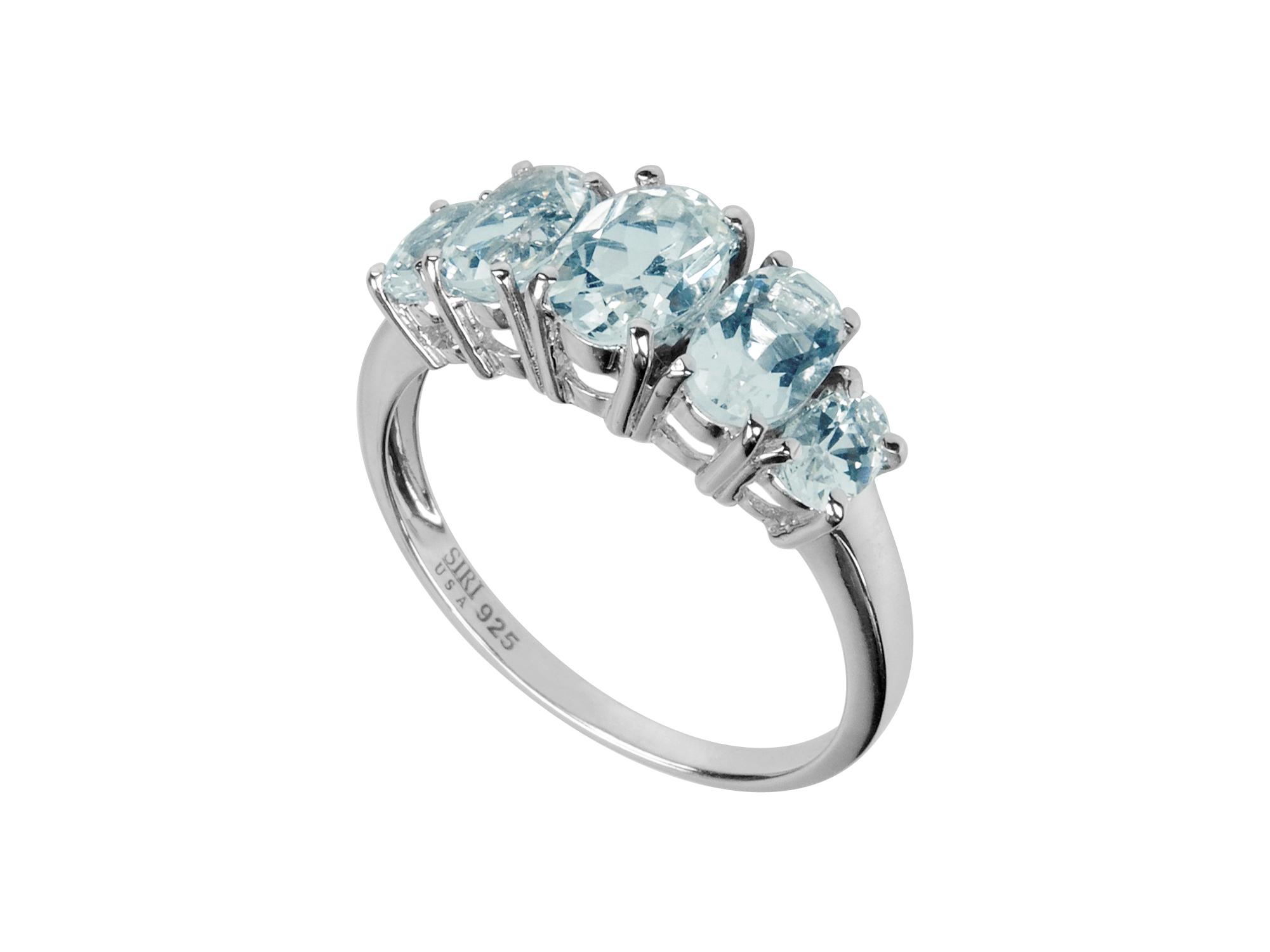 Blue Topaz Ring MJ12145