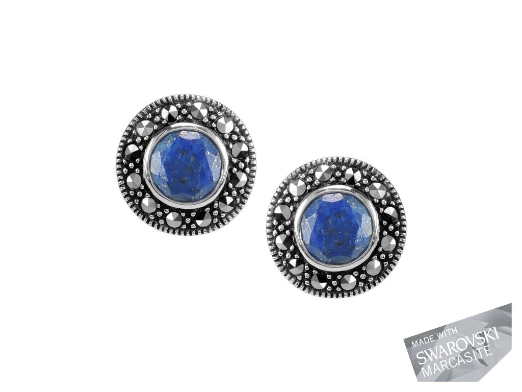 Lapis Lazuli Studs MJ13005