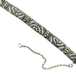Marcasite Bracelet MJ14132