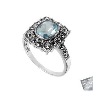 Blue Topaz Ring MJ14279