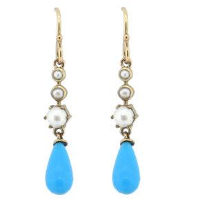 Turquoise Earrings MJ14615