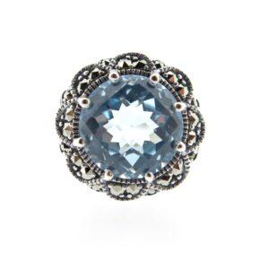 Blue Topaz Ring MJ15298