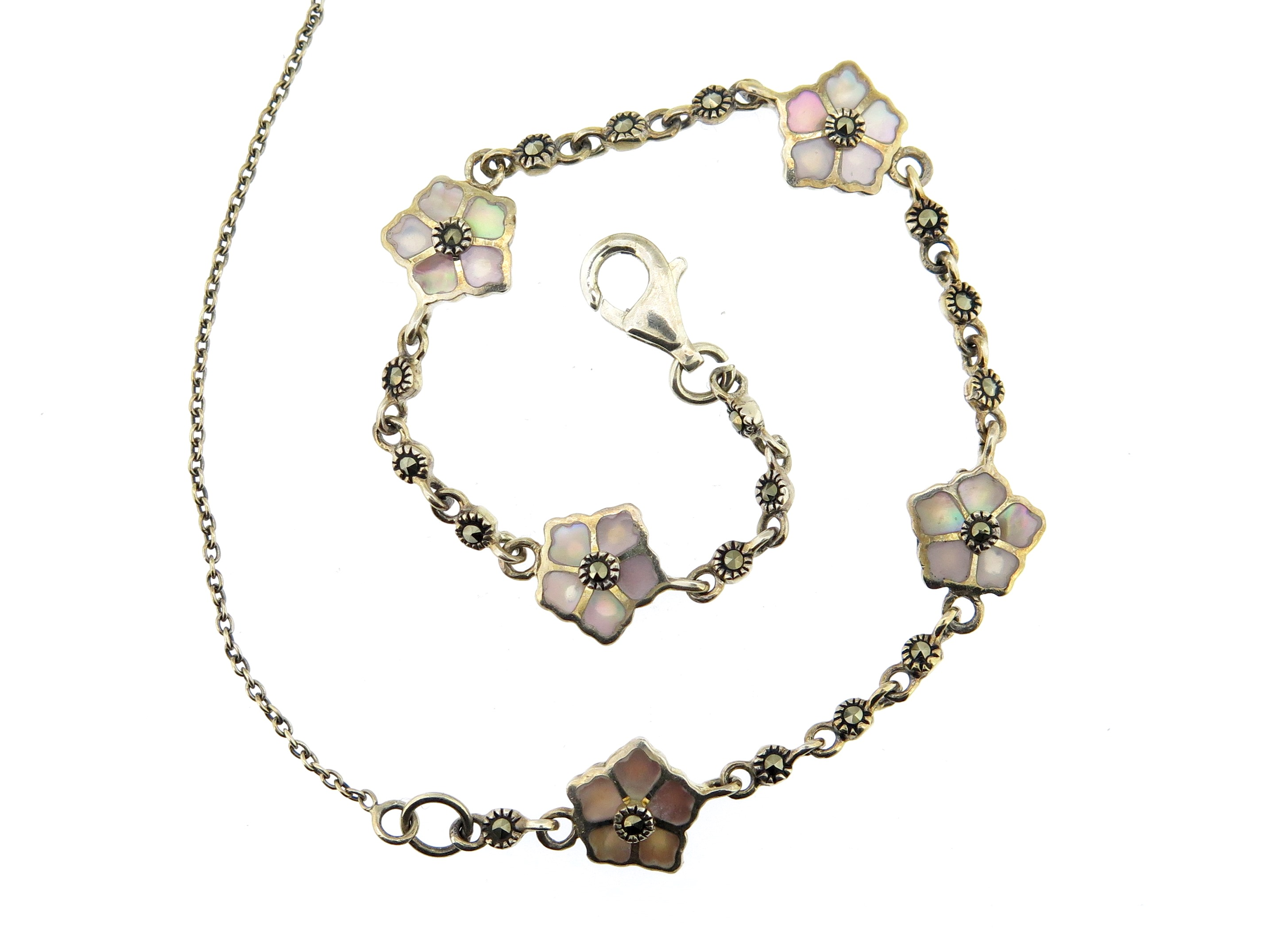 Pink Mother-of-Pearl Bracelet MJ15783