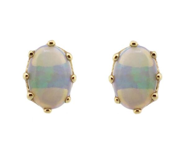 Opal Stud Earrings MJ16517