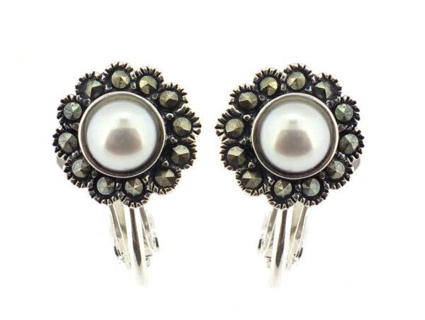 Freshwater Pearl Clip-On Earrings MJ17368