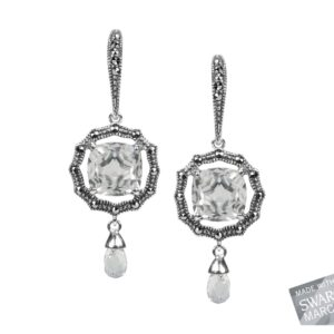 Clear Quartz Earrings MJ18076