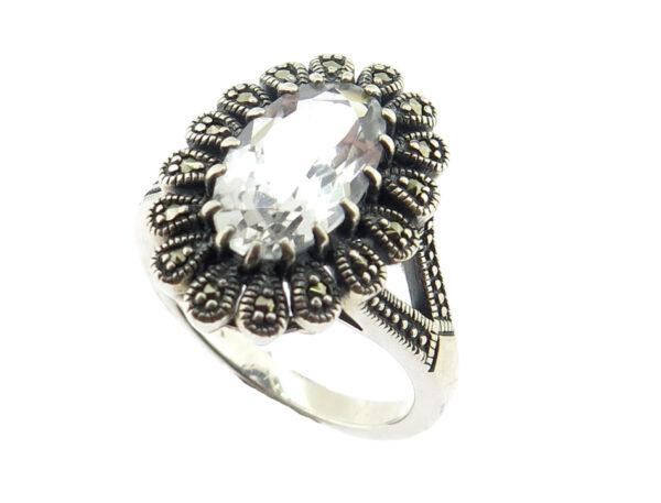 Silver Topaz Ring MJ18861