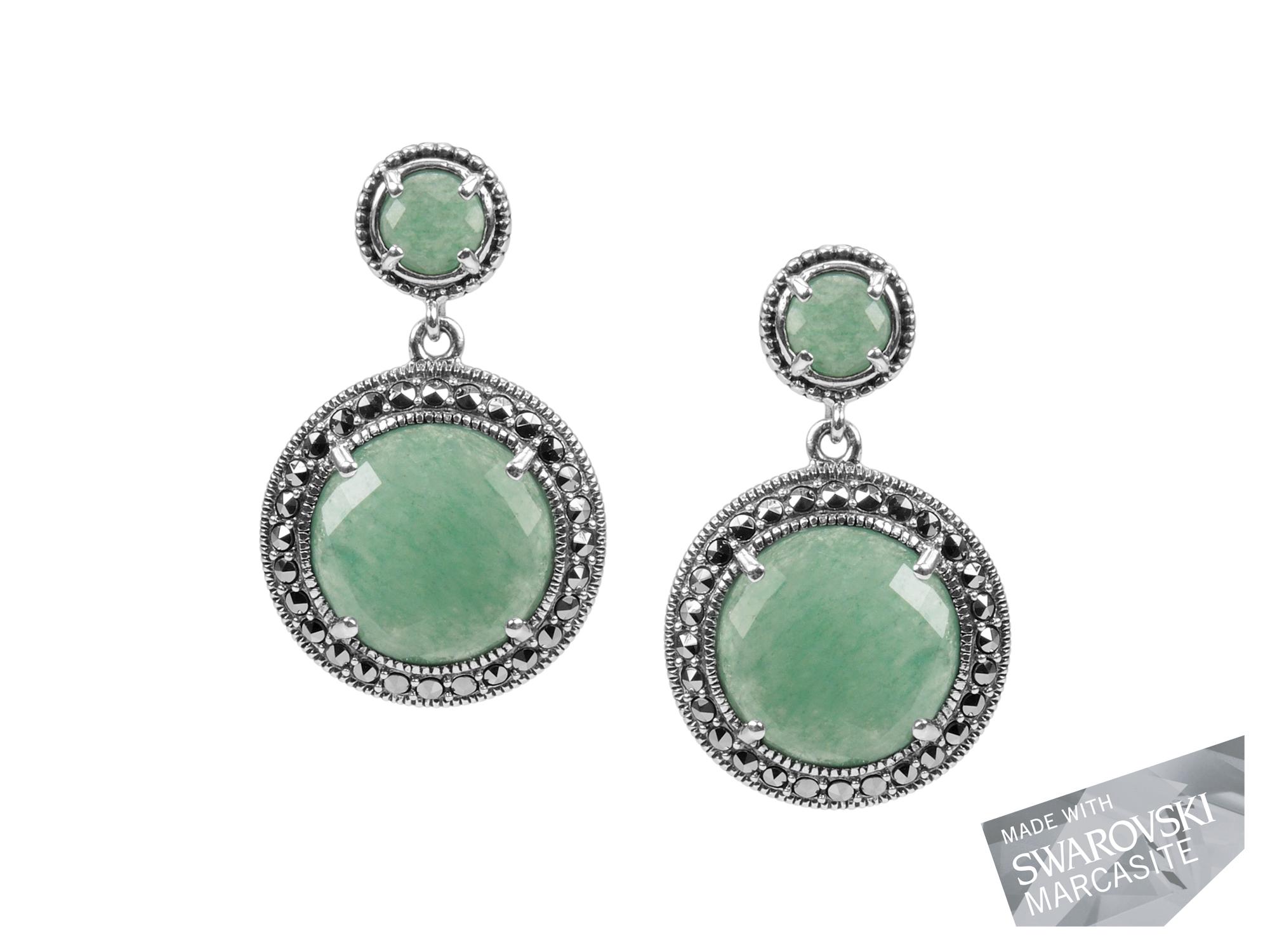 Green Aventurine Earrings MJ18926