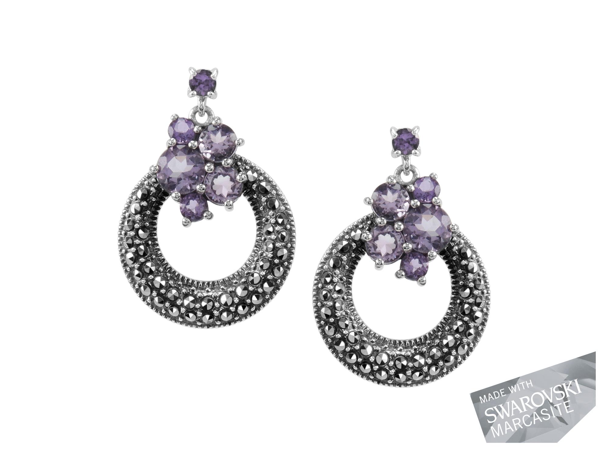 Amethyst Earrings MJ18966