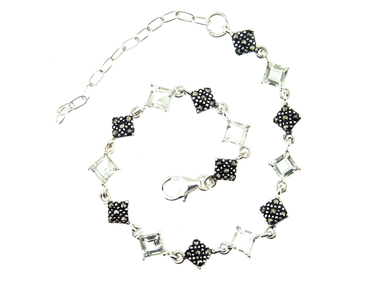 Green Amethyst Bracelet MJ19426
