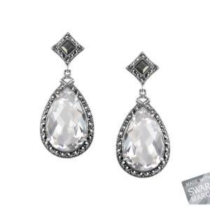 Clear Quartz Earrings MJ19484