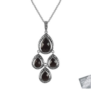 Onyx Pendant on Chain MJ19502