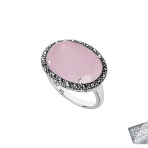 Pink Chalcedony Ring MJ19566