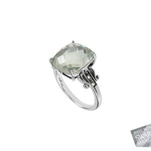 Green Amethyst Ring MJ19588