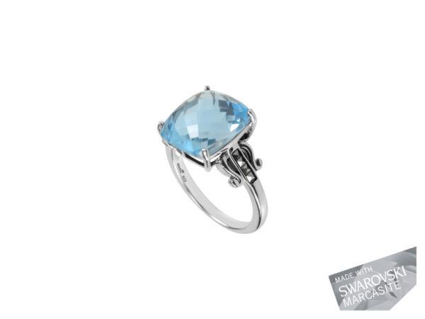 Blue Topaz Ring MJ19589