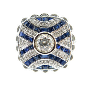Sapphire & Diamond Ring MJ19599
