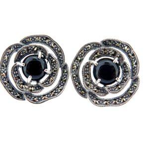 Onyx Stud Earrings MJ19646