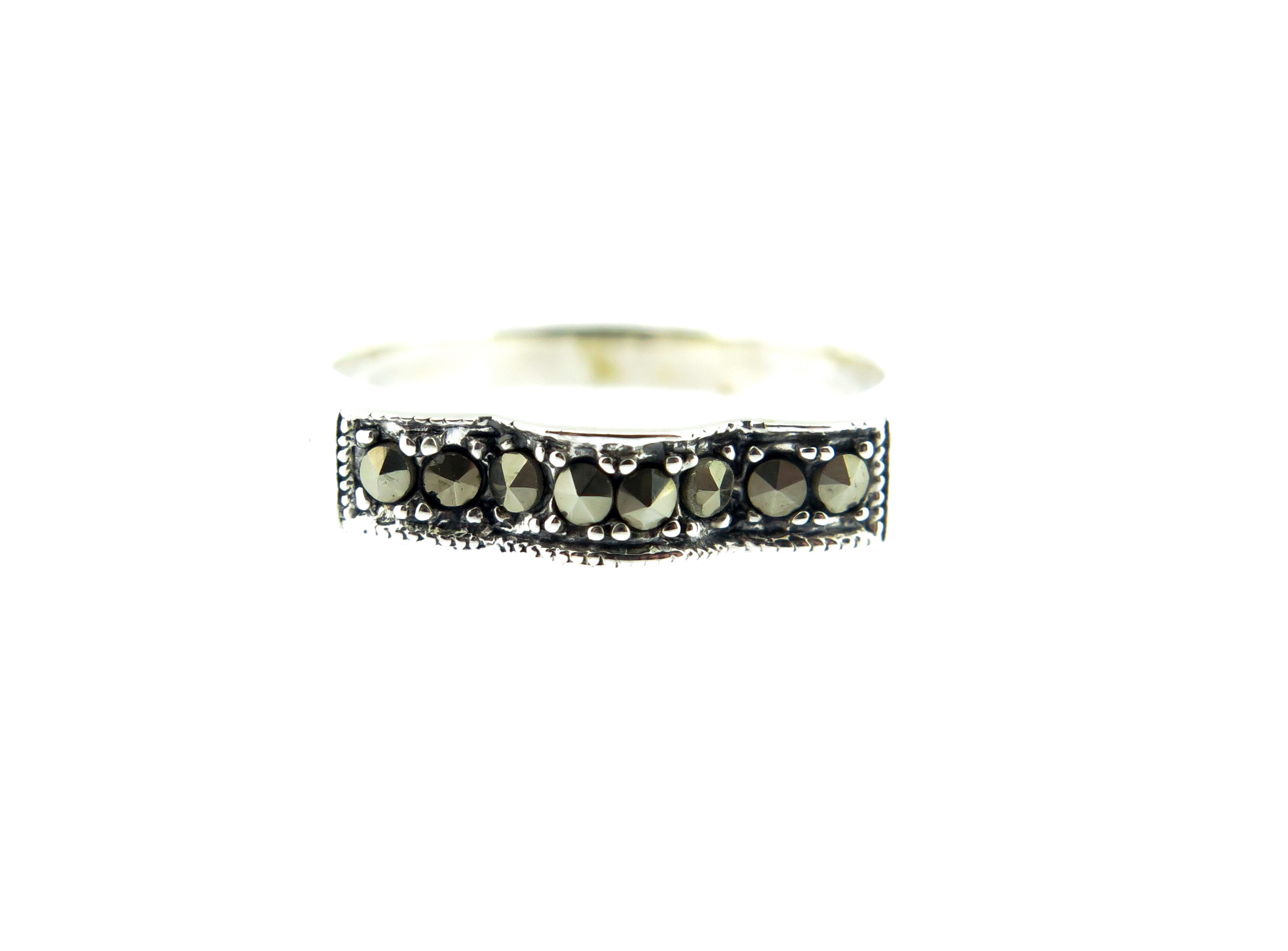 Marcasite Band Ring MJ19886