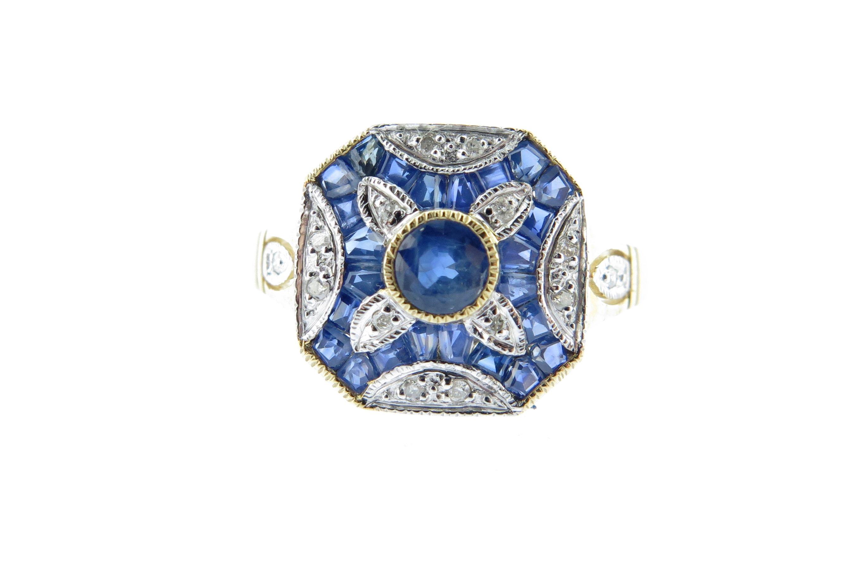 Sapphire & Diamond Ring MJ19920