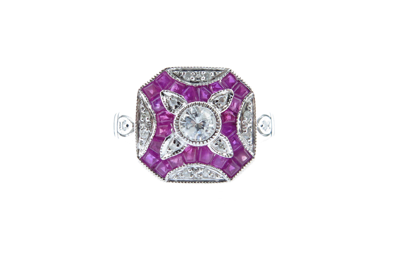 Ruby & Diamond Ring MJ19921