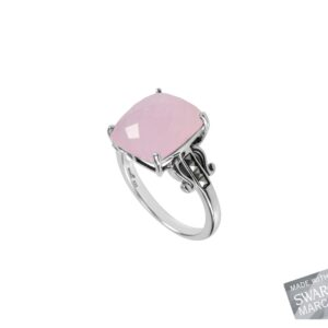 Pink Chalcedony Ring MJ19585