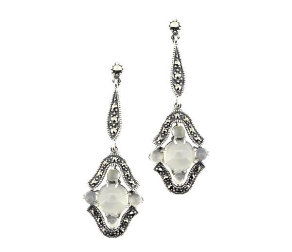 Moonstone Drop Earrings MJ20346