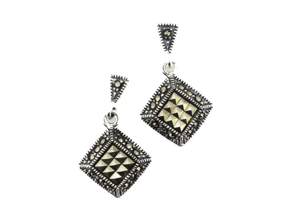 Marcasite Earrings MJ20498