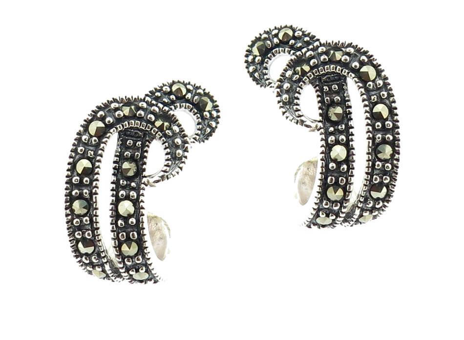 Marcasite Earrings MJ20499