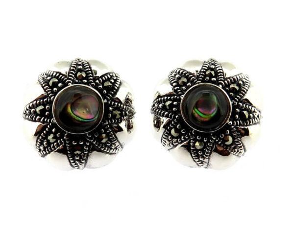 Abalone Stud Earrings MJ20508