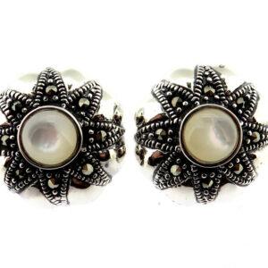 Mother of Pearl Stud Earrings MJ20509