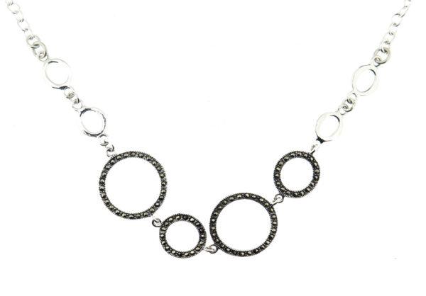 Marcasite Necklace MJ20574