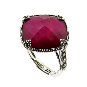 Raspberry Mother of Pearl Ring MJ20755