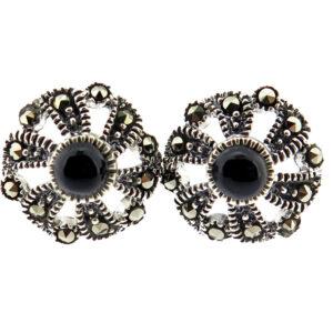 Onyx Stud Earrings MJ20790