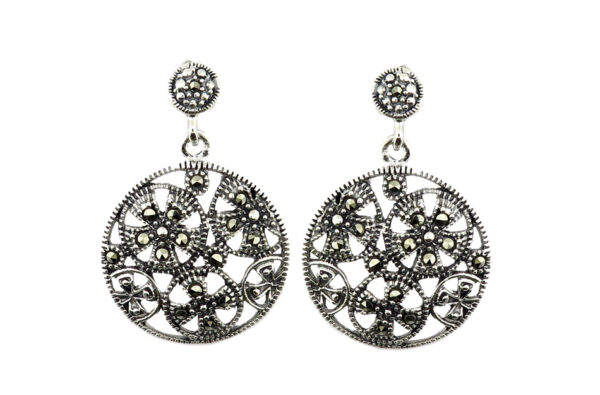 Marcasite Earrings MJ20825
