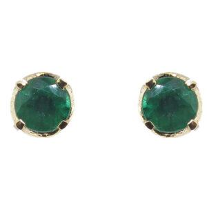 Emerald Stud Earrings MJ21542
