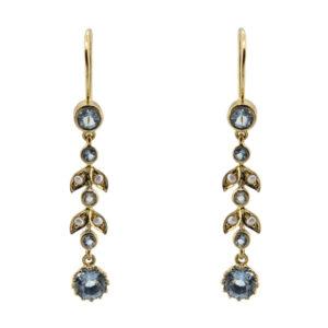 Aquamarine & Pearl Earrings MJ21674