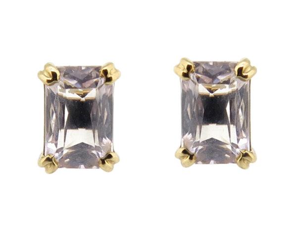 Morganite Stud Earrings MJ21712