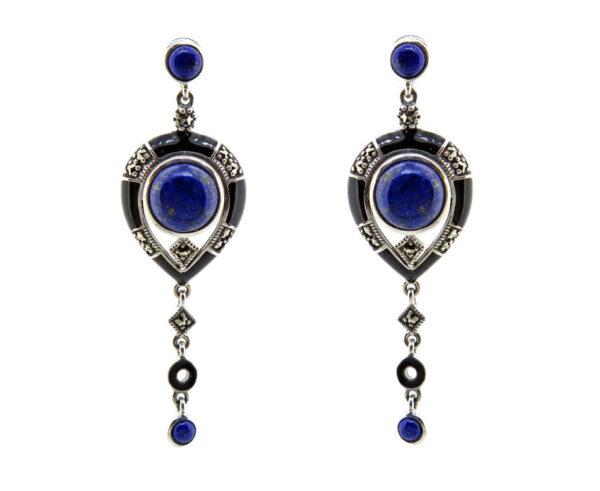 Lapis Lazuli & Enamel Drops MJ22057